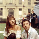 Jane Birkin and Serge Gainsbourg Photographic Print