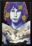 Jim Morrison -Snake Painting Plakat