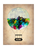 Beijing Air Balloon Poster by  NaxArt