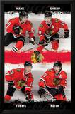 Chicago Blackhawks Team Posters