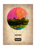 Anchorage Air Balloon Art by  NaxArt