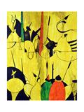 Yellow Prints by Vaan Manoukian