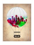 Dallas Air Balloon Prints by  NaxArt