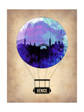Venice Air Balloon Posters by  NaxArt
