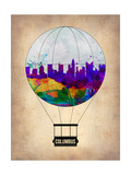 Columbus Air Balloon Posters by  NaxArt