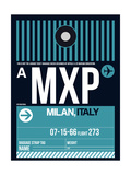 MXP Milan Luggage Tag 2 Prints by  NaxArt