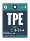 TPE Taipei Luggage Tag 1 Posters by  NaxArt