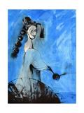 Blue Cloud Prints by Vaan Manoukian