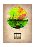 Berlin Air Balloon Print by  NaxArt