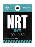NRT Tokyo Luggage Tag 2 Affiches par  NaxArt