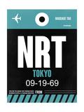 NRT Tokyo Luggage Tag 2 Prints by  NaxArt