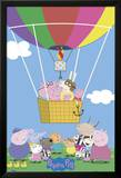 Peppa Pig - Balloon Poster