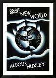Brave New World by Aldous Huxley Print by Leslie Holland