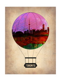 Toronto Air Balloon Print by  NaxArt
