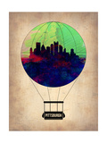 Pittsburgh Air Balloon Art by  NaxArt