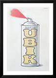 UBIK by Philip K. Dick Prints by Peter Rauch