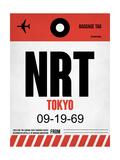 NRT Tokyo Luggage Tag 1 Print by  NaxArt
