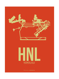 HNL Honolulu Airport 3 Poster by  NaxArt