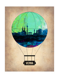 Vienna Air Balloon Prints by  NaxArt