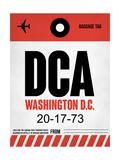 DCA Washington Luggage Tag 1 Sztuka autor NaxArt