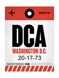 DCA Washington Luggage Tag 1 Art by  NaxArt