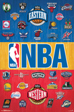 NBA - Logos 14 Posters