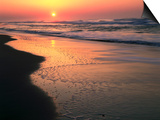 Sunrise over Outer Banks, Cape Hatteras National Seashore, North Carolina, USA Prints by Scott T. Smith