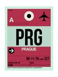 NaxArt - PRG Prague Luggage Tag 2 - Reprodüksiyon