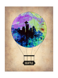 Seattle Air Balloon Prints by  NaxArt