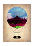 Rio Air Balloon Print by  NaxArt