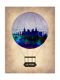 Las Vegas Air Balloon Prints by  NaxArt