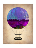 Amsterdam Air Balloon Art by  NaxArt