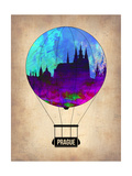 Prague Air Balloon Prints by  NaxArt