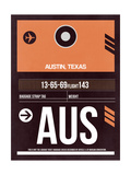 AUS Austin Luggage Tag 2 Posters by  NaxArt