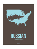 Russian America Poster 2 Art by  NaxArt