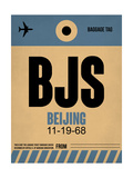 BJS Beijing Luggage Tag 2 Prints by  NaxArt