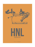 HNL Honolulu Airport 2 Prints by  NaxArt