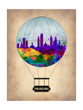 Philadelphia Air Balloon Posters by  NaxArt