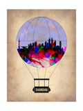 Shanghai Air Balloon Posters by  NaxArt