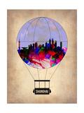 Shanghai Air Balloon Prints by  NaxArt