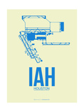 IAH Houston Airport 3 Prints by  NaxArt