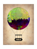 Dublin Air Balloon Prints by  NaxArt