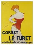 Corset le Furet, 1901 Posters by Leonetto Cappiello