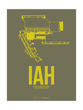 IAH Houston Airport 2 Print by  NaxArt