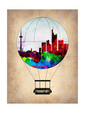 Frankfurt Air Balloon Prints by  NaxArt