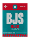BJS Beijing Luggage Tag 1 Posters by  NaxArt