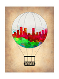 Denver Air Balloon Posters by  NaxArt