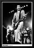 The Who i Rotterdam 1975 Poster