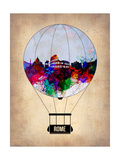 Rome Air Balloon Prints by  NaxArt