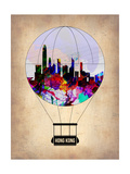 Hong Kong Air Balloon Prints by  NaxArt